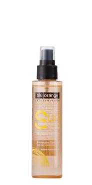 Olio spray protettivo con filtri solari