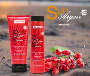 shampoo e balsamo solari per capelli in estate